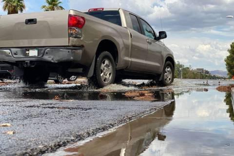 Archivo.- Las precipitaciones en una pequeña zona de Henderson fueron las más cargadas de llu ...