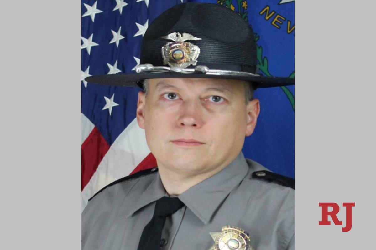 El agente Micah May (Nevada Highway Patrol).
