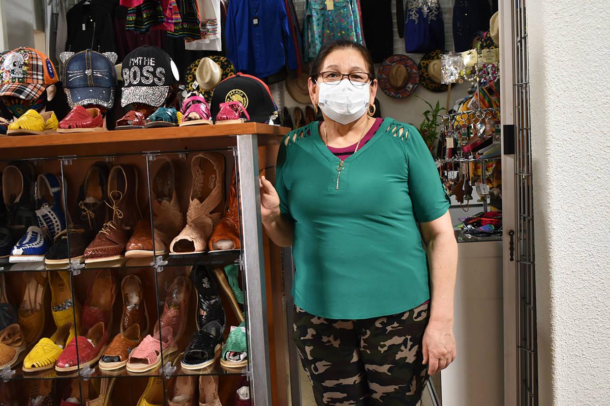 """María Piedad Rodríguez, propietaria de """"Novedades Rodríguez"""", pidió a la comunidad hisp ..."""