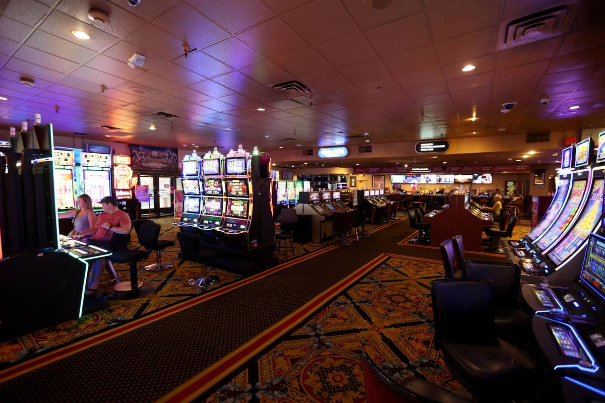 El casino Railroad Pass en Henderson el lunes 26 de julio de 2021, antes de cumplir 90 años el ...