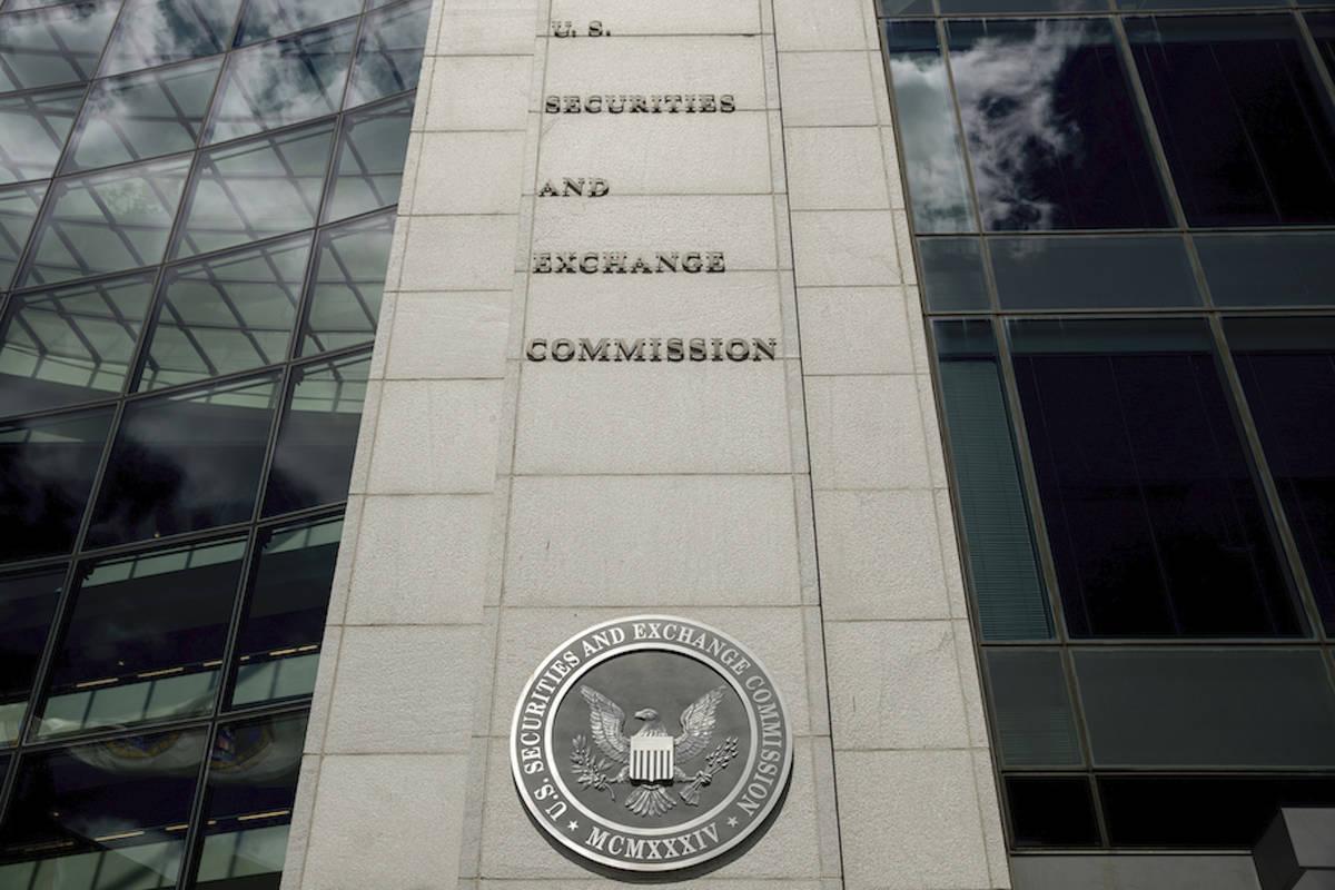 En esta foto de archivo del 5 de agosto de 2017 se muestra el edificio de la Securities and Exc ...