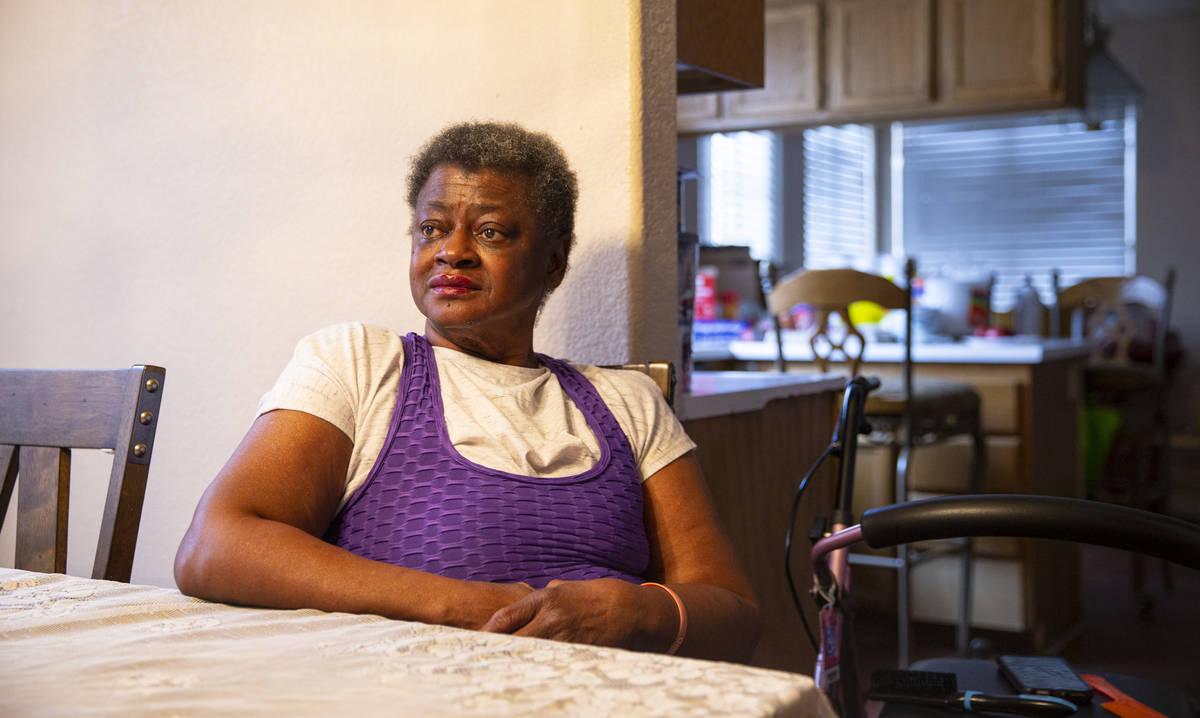 Rose Parker, cuya casa está siendo amenazada con una demanda de ejecución hipotecaria por no ...