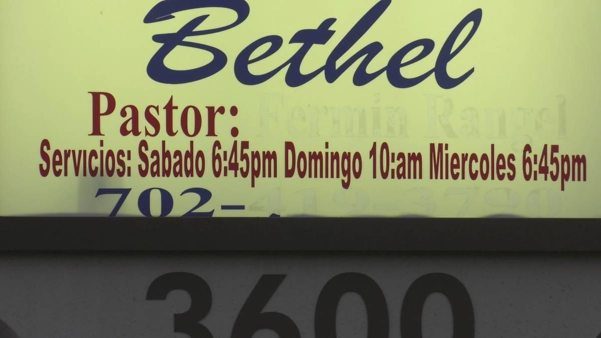 Centro Cristiano Bethel en Las Vegas, 2021. (James Schaeffer/Las Vegas Review-Journal)
