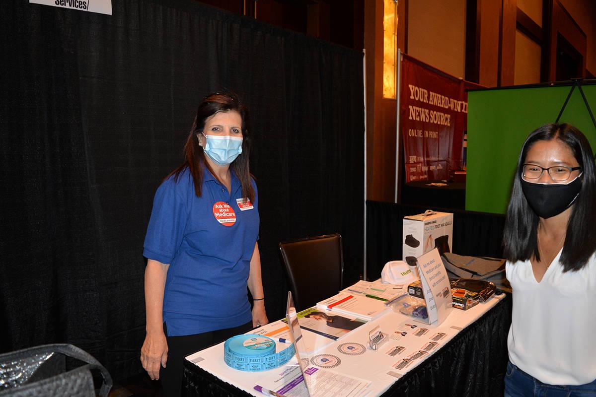 La reciente Expo AgeWell 2021, organizada por el diario Las Vegas Review Journal (LVRJ), ofreci ...
