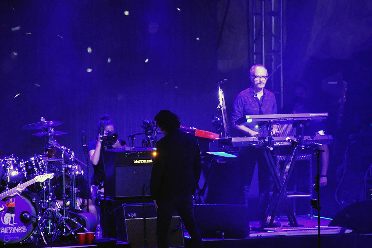 """""""El Chato"""" a punto de comenzar su concierto el pasado sábado 28 de agosto en el Mandalay B ..."""