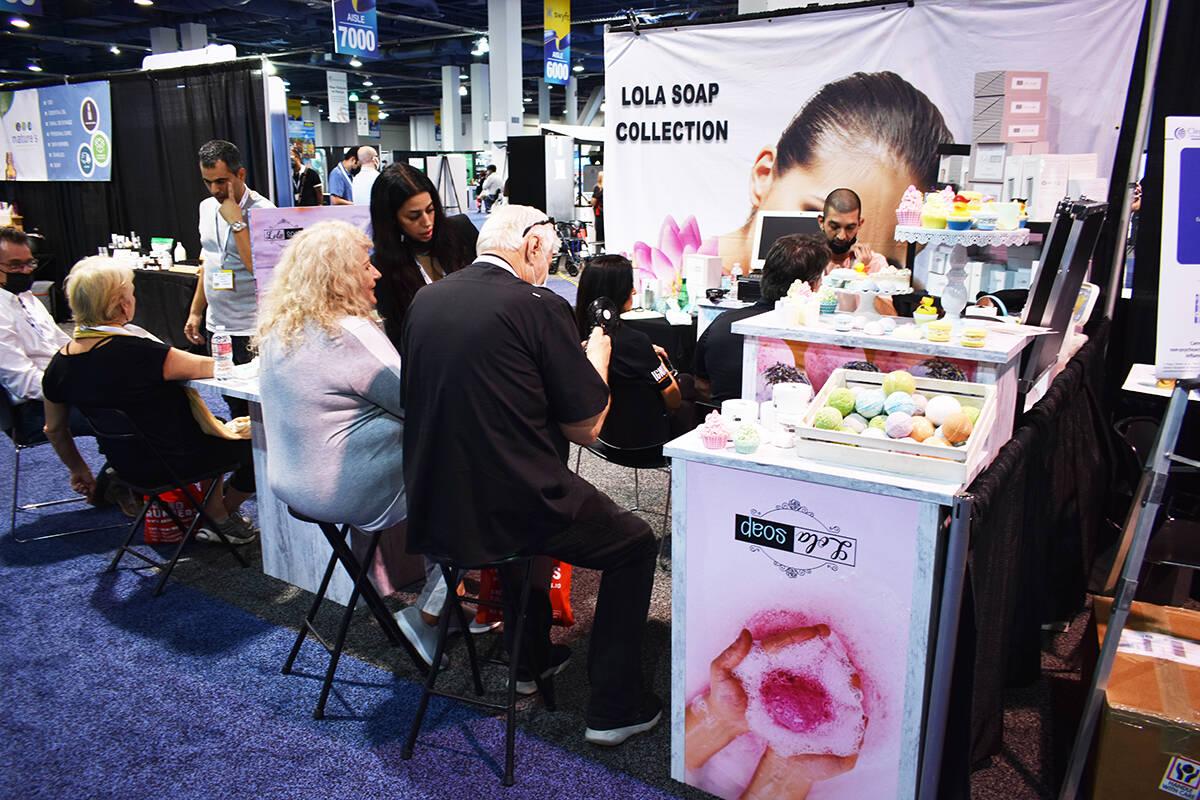 Lola Soap Collection fue uno de los negocios presentes en la White Label World Expo 2021. Jueve ...