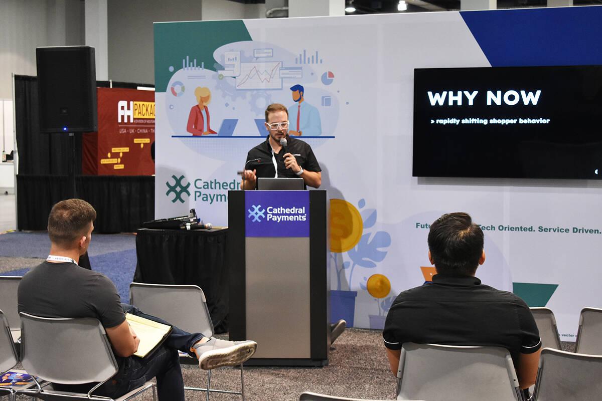 Keith Fix, de Retail Aware, fue uno de los oradores de la White Label World Expo 2021. Jueves 2 ...