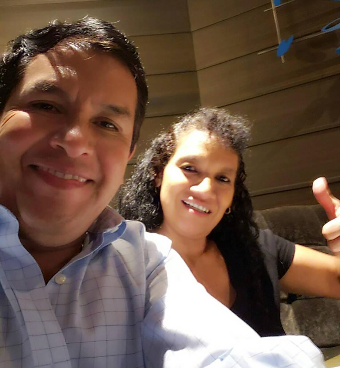 José Ricardo López, un portador de TPS de Honduras y uno de los miembros fundadores del Comit ...