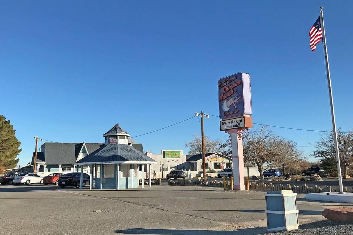 El burdel Chicken Ranch en Pahrump, visto en 2019. (Pahrump Valley Times)