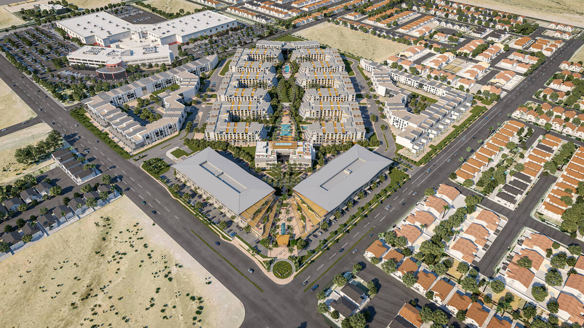 El promotor Joe Sorge está construyendo un proyecto de uso mixto de 42 acres llamado Evora, cu ...
