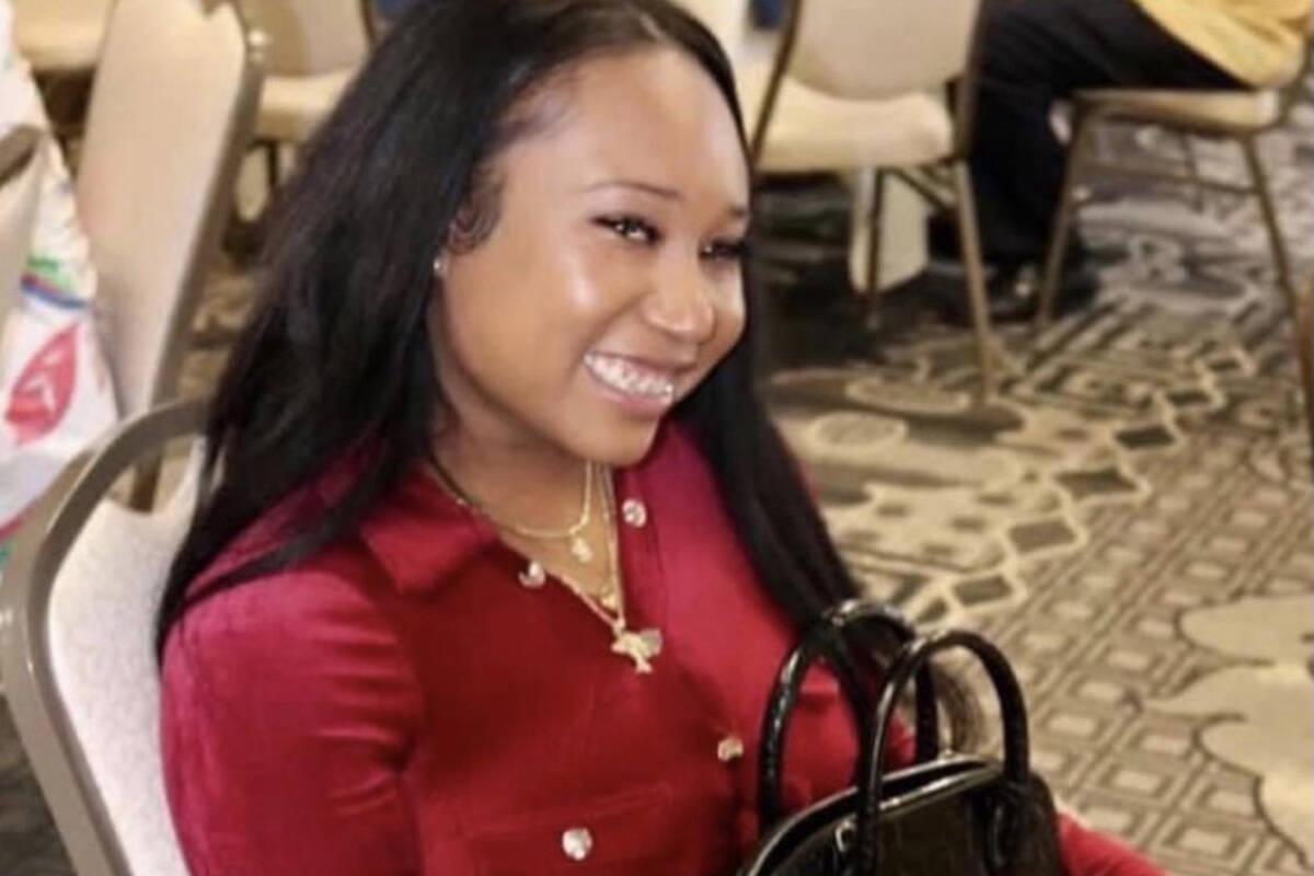 Destiny Jackson posa en una foto sin fecha. La familia de Jackson dijo que la joven de 24 años ...