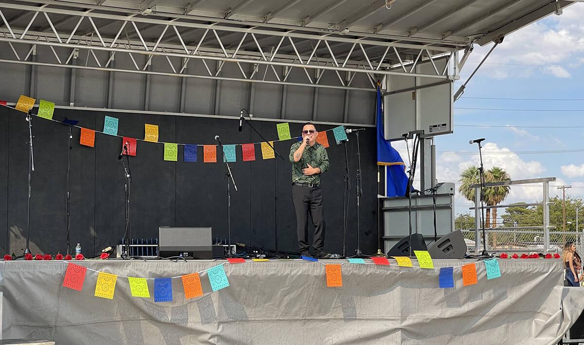 """El cantante Saúl Medina se incorporó al elenco del """"Heritage Month Festival"""". El sábado ..."""