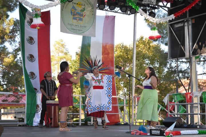 En el Centro Cultural Winchester Dondero, Irma Varela coordinó junto a la Federación Hidalgue ...