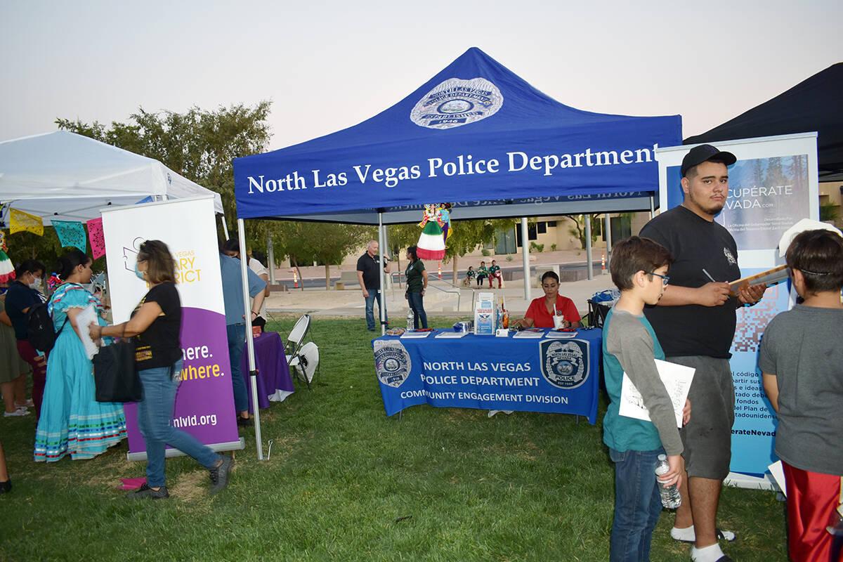 """Las autoridades del Ayuntamiento de North de Las Vegas echaron """"la casa por la ventana"""" con ..."""