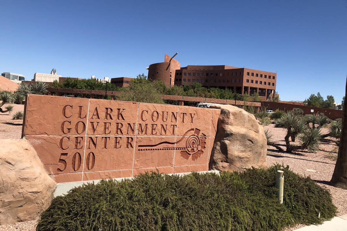 El Centro de Gobierno del Condado Clark en Las Vegas, el miércoles 19 de septiembre de 2018. ( ...