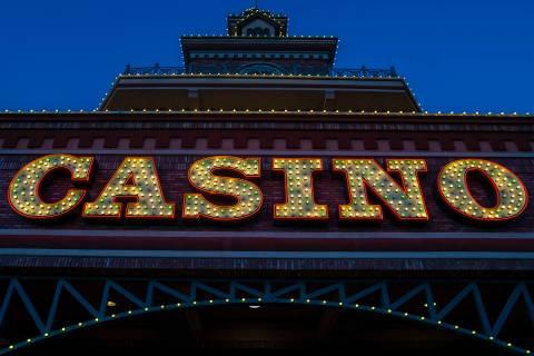 El casino Boulder Station el jueves 3 de septiembre de 2020, en Las Vegas. (Benjamin Hager/Las ...