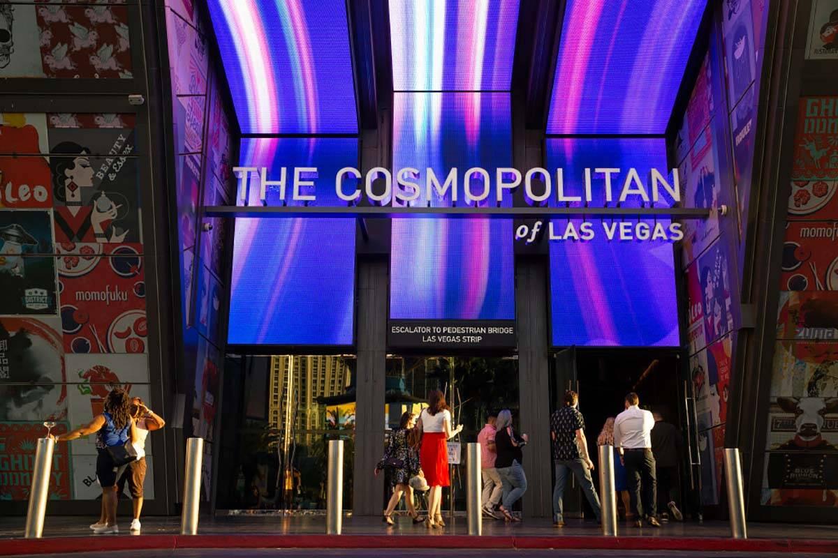 El Cosmopolitan of Las Vegas el miércoles 9 de junio de 2021 en Las Vegas. El inmueble del Str ...