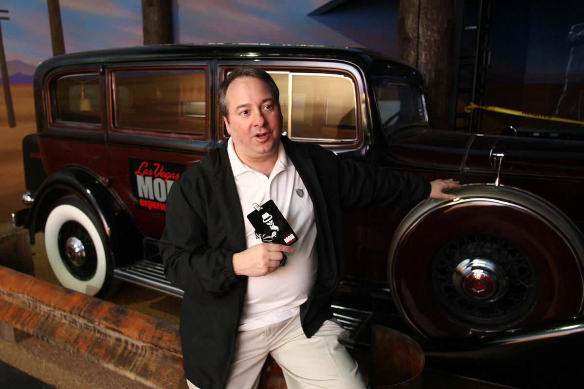 Jay Bloom en Las Vegas Mob Experience en 2011. (Craig L. Moran/Las Vegas Reivew-Journal)
