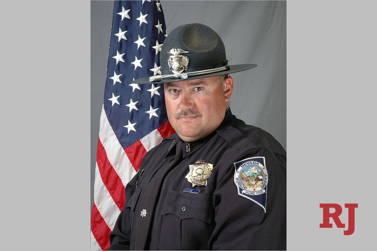 El sargento de la Nevada Highway Patrol Ben Jenkins (Nevada Highway Patrol)