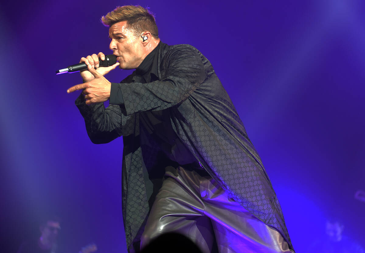 Ricky Martin complació a su público interpretando temas en inglés y español. El sábado 25 ...