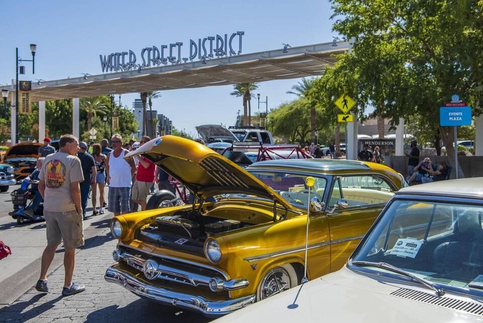Henderson Hot Rod Days será el viernes y el sábado en Water Street Plaza. (City of Henderson)