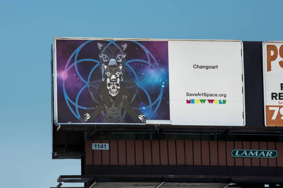 Por Changoart (Christopher DeVargas for Meow Wolf) 3305 S Decatur Blvd