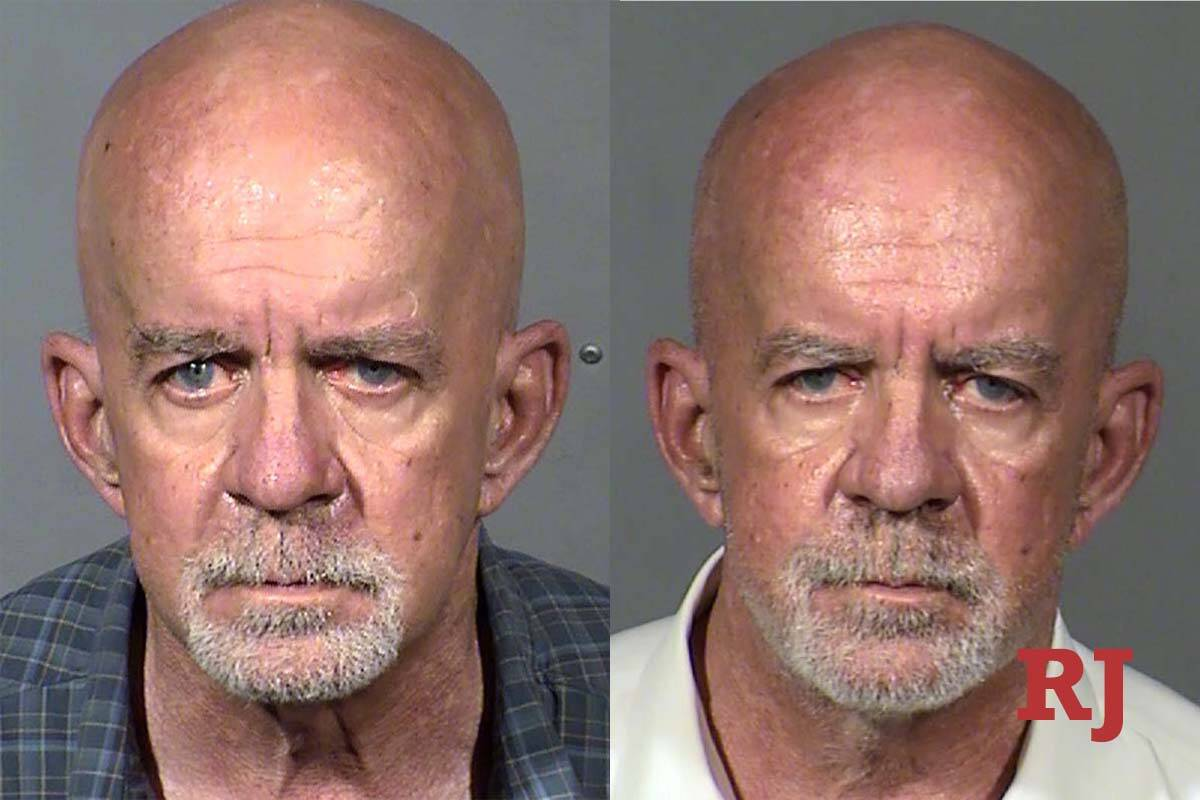 Brian J. Smith is shown in his mug shots after his DUI arrests this year. The picture on the le ...
