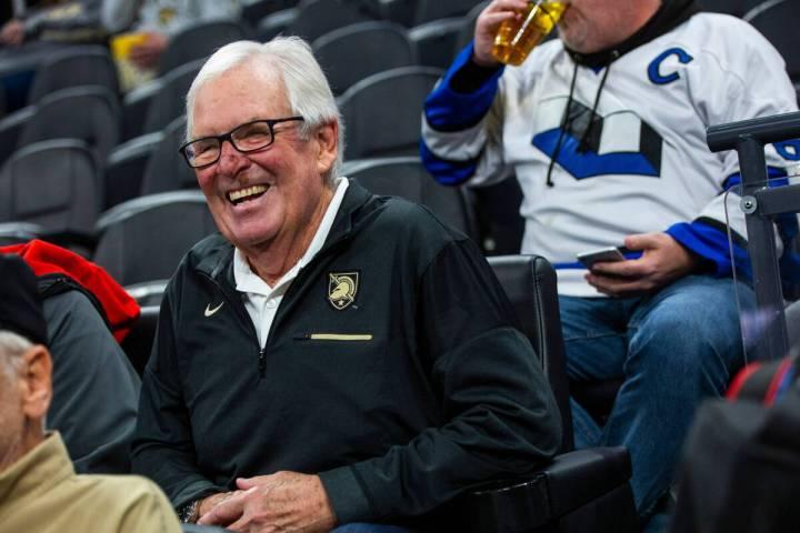 El propietario de los Golden Knights, Bill Foley, en T-Mobile Arena de Las Vegas el viernes 3 d ...